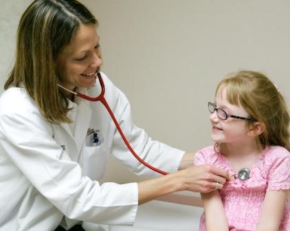 Girl Doctor Visit