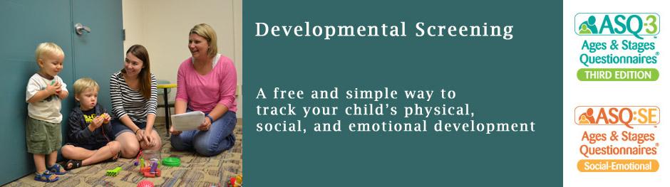 Developmental Screening - Free and Easy