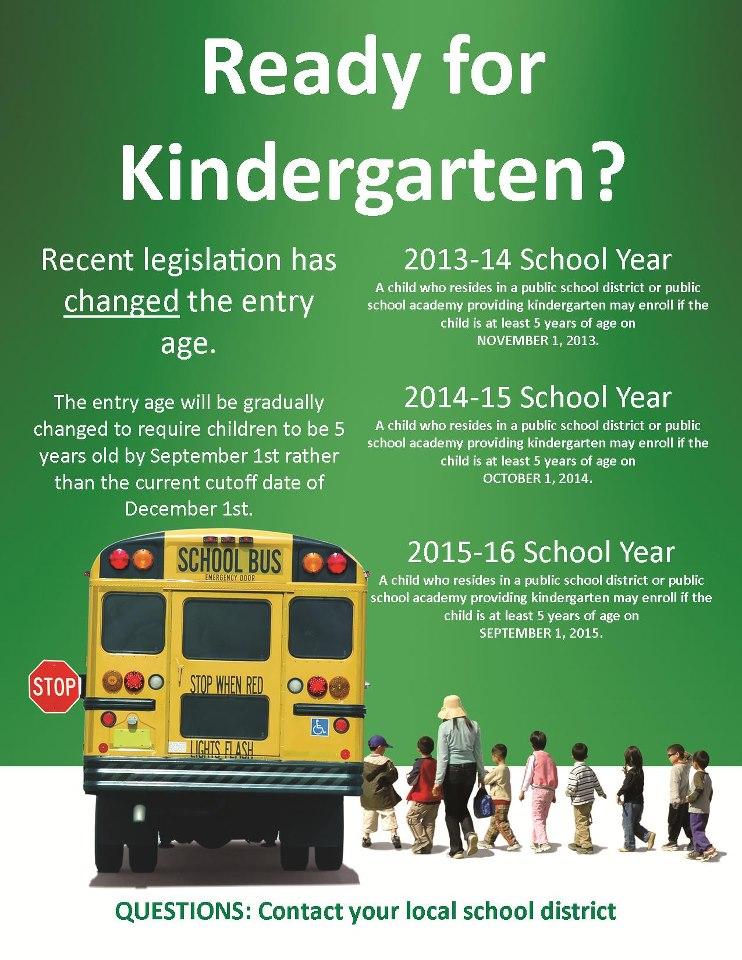 kindergarten age change - Ky State Laws On Children Starting Kindergarten